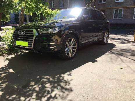 Audi Q7 на площадке MadMotion CarWash